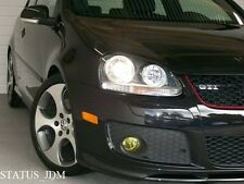 VW MK5 Yellow Fog Light Overlays Tint Vinyl GTI R32 EDM 06-09 Golf/Jetta MKV
