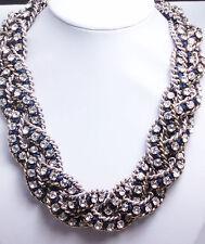 Stella &/and Dot La CoCo braided cupchain necklace chain
