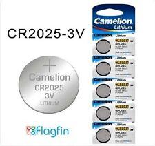 5 x cr2025 Batteria A Bottone Al Litio 3v per PC Porta Campana MacChina calcolatore Remoto