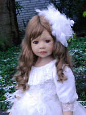 "Masterpiece Allison Brunette Wig, Fits Up To 20 1/2"" Head, Doll Not Included"
