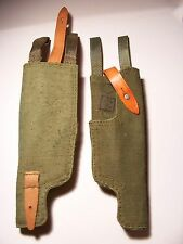 HOLSTER PM63 RAK MINI UZI SMG POLISH ARMY POUCH CANVAS GUN PISTOL WEBBING BAG