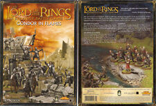 LORD OF THE RINGS,  GONDOR IN FLAMES SOURCEBOOK  - USED- GAMES WORKSHOP-