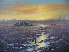 "NEW STUNNING  ORIGINAL JOEL KIRK ""The Fallen"" GREAT FIRST WORLD WAR  PAINTING"