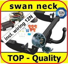 Towbar & Electric 7pin 12N Peugeot 307 Hatchback 2001 - 2007 / swan neck Tow Bar