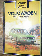 1974 VOLKSWAGEN DASHER CLYMER SHOP MANUAL REPAIR SERVICE