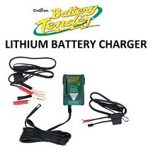 Battery Tender Lithium Ion Charger Junior Motorcycle ATV Dirtbike Yamaha