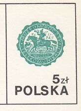 POLAND 1985 MINT Postcard Cp#912a  World Post Day 1985 - UPU Bern