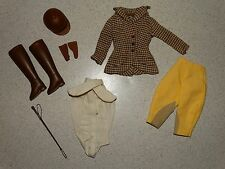 Barbie:  VINTAGE Complete RIDING IN THE PARK Outfit!