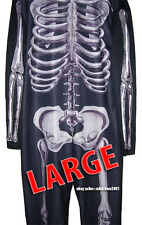 Donnie Darko Costume Medium Skeleton Suit Adult Cosplay Halloween Party - Large