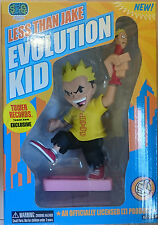 "LESS THAN JAKE - 7"" Evolution Kid Rotocast Figure Exclusive (Stronghold) #NEW"