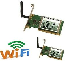 TARJETA WIFI PCI_Conceptronic 802.11g Wireless Network Adapter