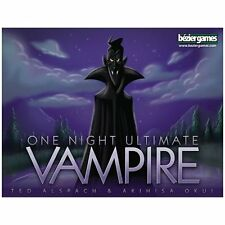 One Night Ultimate Vampire Family Party Game Bezier Games BEZVAMP