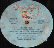 "GRANDMASTER FLASH & THE FURIOUS FIVE THE MESSAGE * Classic Rap Hip Hop 12"" Vinyl"
