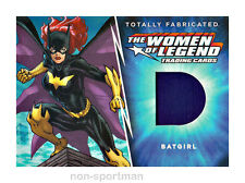 DC THE WOMEN OF LEGEND CRYPTOZOIC TF-04 BATGIRL FABRICATED COSTUME CARD
