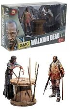 The Walking Dead Tv Serie Morgan con Impaled Walker 2 Figura Serie Pack De 8