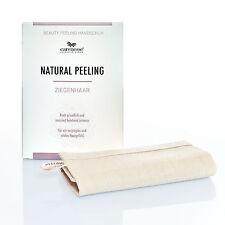 Natural Peeling Ziegenhaar Beauty Handschuh Körperpeeling für vitale junge Haut