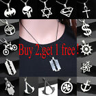 Fashion Women Men Pendant Necklace Chain Silver Stainless Steel New Jewelry Gift