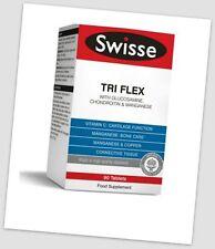 SWISSE ultiplus Tri Flex NUOVO con scatola prezzo consigliato £ 20 Collagene Condroitina Glucosamina Manganese