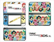 SKIN DECAL STICKER - NINTENDO NEW 3DS XL - REF 108 PRINCESS DISNEY