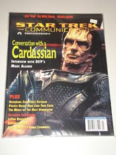 STAR TREK COMMUNICATOR #111 VF FAN CLUB US MAGAZINE CARDASSIAN MARC ALAIMO DS9