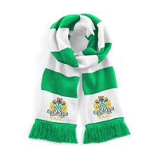 Retro Plymouth Argyle 1950's Traditional Football Scarf Embroidered Logo