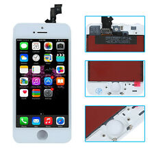 For iPhone SE White LCD Screen Touch Digitizer Display Assembly Replacement Part