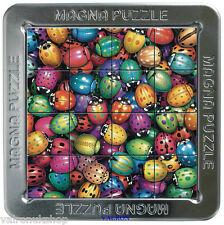 AMAZING SMALL BUGS 3D MAGNETIC JIGSAW PUZZLE IN METAL TIN CAN BE MADE ANYWHERE