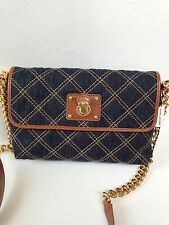 Marc Jacobs AUTHENTIC NWT Single Quilted Denim Crossbody