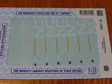 Microscale Decal HO  #87-1300  Canadian National 50' Boxcars-1990-2007