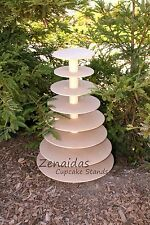 Cupcake Stand 8 Tier Round MDF Wood DIY Project Cupcake Tower Birthday Stand Wed