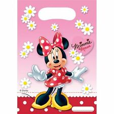 SALE Birthday Plastic Disney Mini Minnie Mouse Party Bags Loot Bags