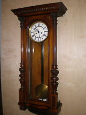 Antique-Junghans-2 Weight-Vienna Reguator Clock-Ca.1890s-To Restore