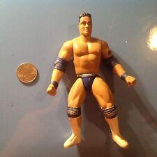 WWF Jakks The Rock Dwayne Johnson Wrestling Action Figure Wrestler WWE WCW HOF