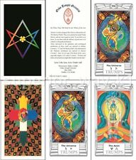 ENGLISH Oracle Aleister Crowley Thoth Tarot Fortune New Sealed Cards Deck