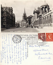 1960 THE HIGH STREET OXFORD OXFORDSHIRE POSTCARD