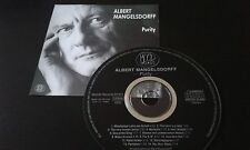 CD ALBERT MANGELSDORFF - PURITY  / TOP