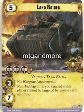 Warhammer 40000 Conquest LCG - Land Raider  #017 - Base Set