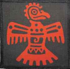 AZTEC EAGLE - Aztec Stone Carvings - Printed Patch-Sew On - Jacket, Backpack