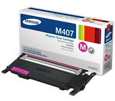 Genuine Samsung CLT-M407S 1000 Yield Magenta Toner Cartridge for CLP-320/321