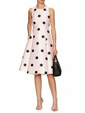NWT $478 Kate Spade SPOTLIGHT FIT & FLARE Sz 6 DRESS Pastry Pink Dots Party