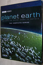 Planet Earth - The Complete Collection (Blu-ray Disc 2007, 4-Disc Set) FREE SHIP