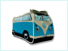 BLUE VW Volkswagen Split Screen Kombi Bus Camper Van Washbag Dopp Kit Travel Bag