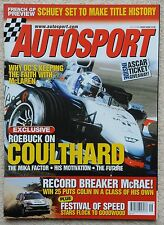 Autosport magazine 18th July 2002 - Coulthard, Colin McRae