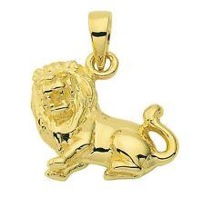 585 Gold - Gelbgold - Sternzeichenanhänger - Löwe - Anhänger  Sternzeichen