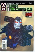 ♥♥♥♥ U.S. WAR MACHINE 2.0 • Issue 2 • MAX Comics