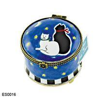 KELVIN CHEN Enamel STAMP Dispenser - CAT Black White