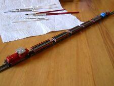 Marklin Mini-Club 8864 switch Loco handmade unique with loaded cars