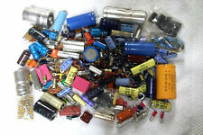 2.3 lbs VARIOUS CAPACITORS removed from IBM equipment    Range of many values
