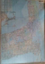 Lower Outer Cape Cod MA Laminated Wall Map (K)