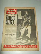 MELODY MAKER 1973 JANUARY 13 ALICE COOPER CHUCK BERRY ERIC CLAPTON KEITH EMERSON